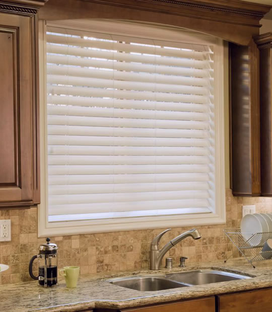 Faux Wood Shutter Blinds
