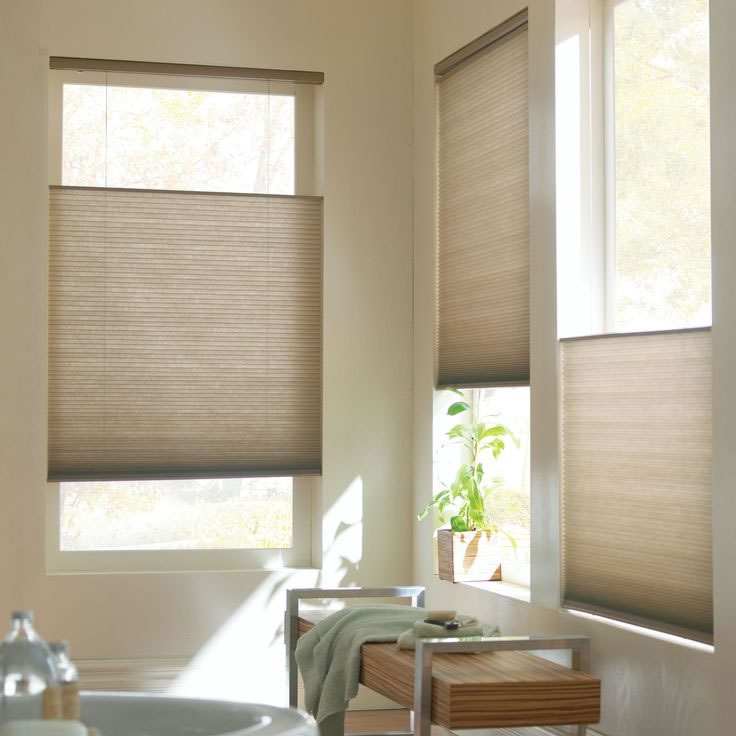 Cordless Light Filtering Cellular Shades Premium 3 4