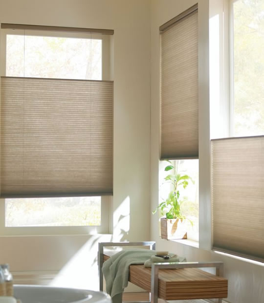 Cordless Light Filtering Cellular Shades