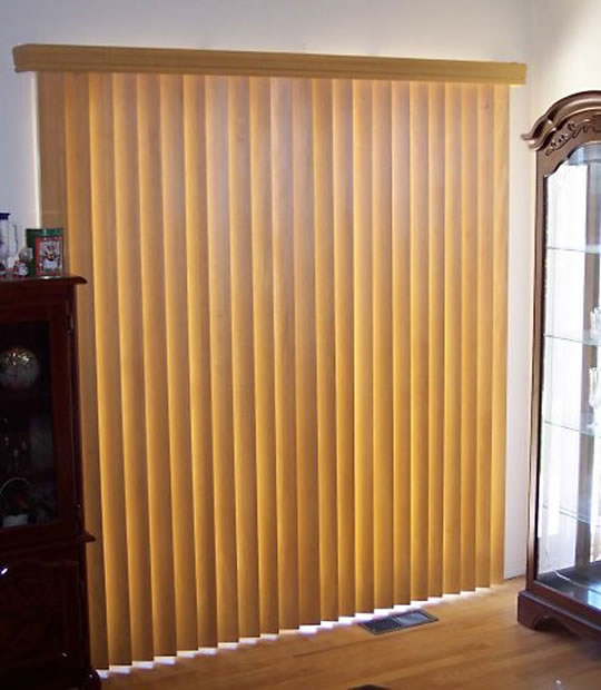 Blindscom Fabric Vertical Blind Image Of Curtains Or