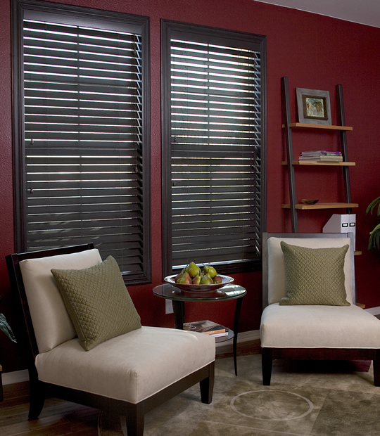 Smartprivacy Corded Faux Wood Blinds 2