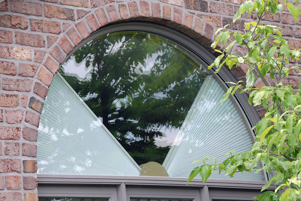 Cellular Honeycomb Movable Arch Shades Homeblinds