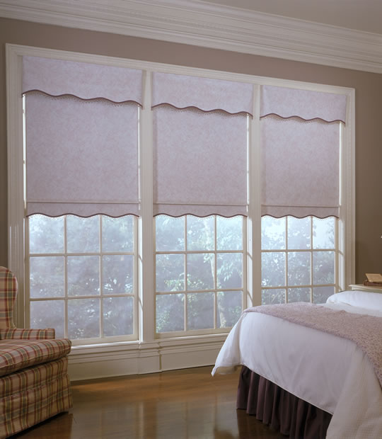 Roller Shades With Scalloped Bottom Bindu Bhatia Astrology