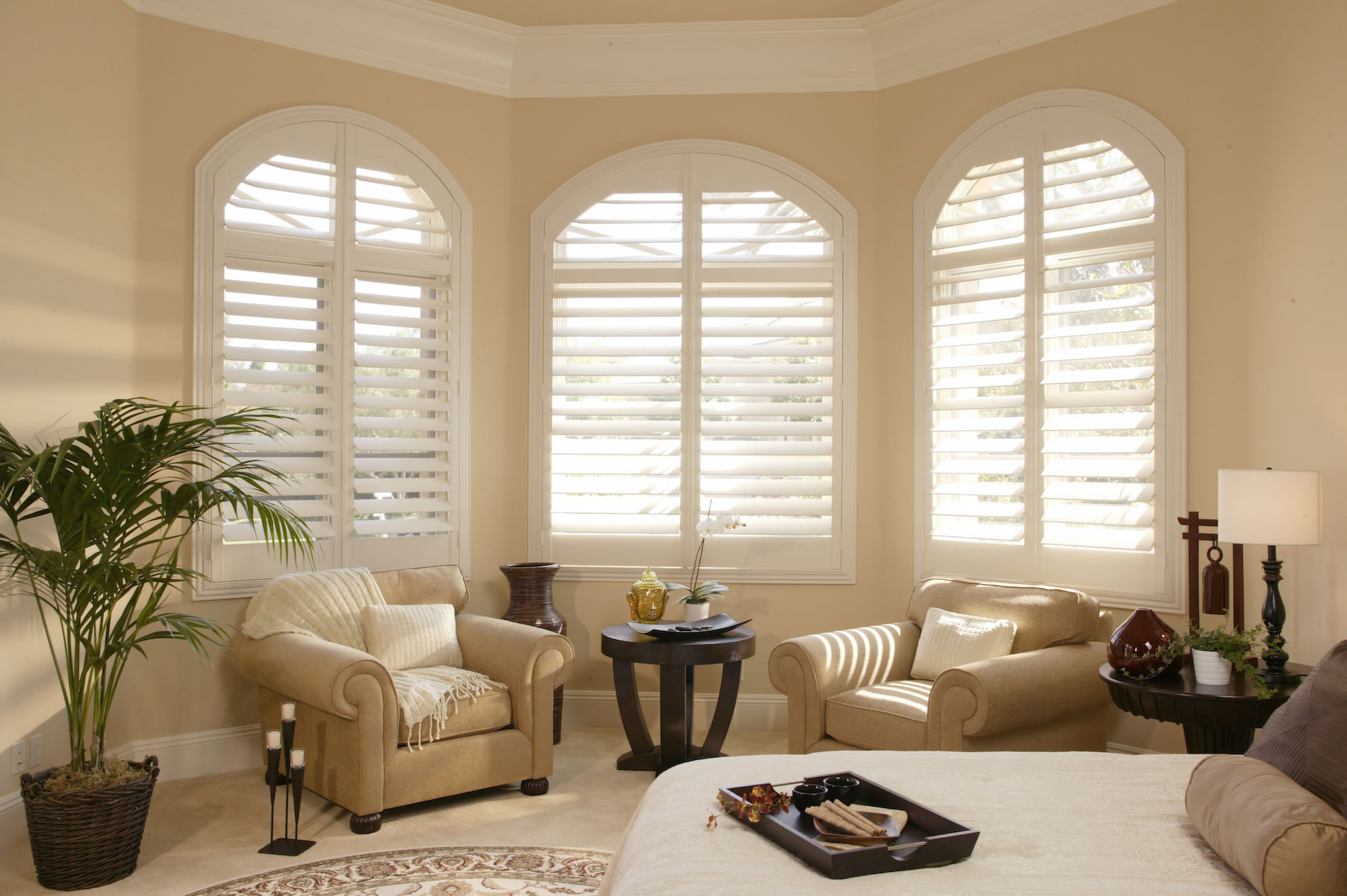 Plantation Shutters Premium Wood Normandy Paints